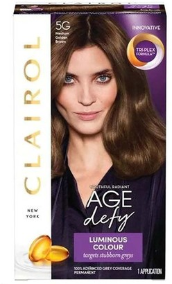 Clairol Nice 'N Easy Age Defy 5G Medium Golden Brown Hair Dye