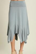 Umgee USA Mint Midi Skirt