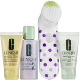 Clinique Mother's Day Sonic Brush Set For Dry Skin