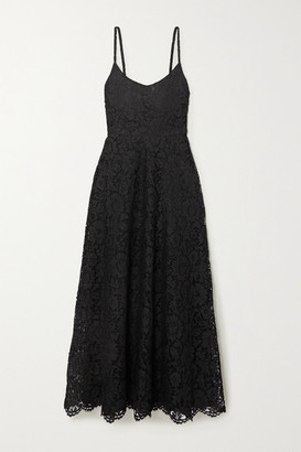 Valentino Corded Lace Gown - Black