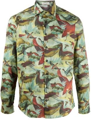 Etro Bird Print Shirt
