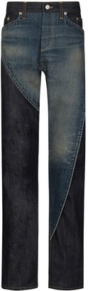 Nounion Paname panelled jeans