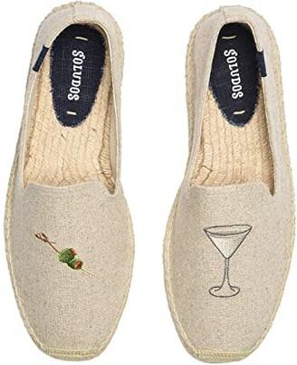 Soludos Dry Martini Smoking Slipper (Sand) Men's Shoes