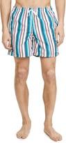 Bather Pink Stripe Swim Shorts