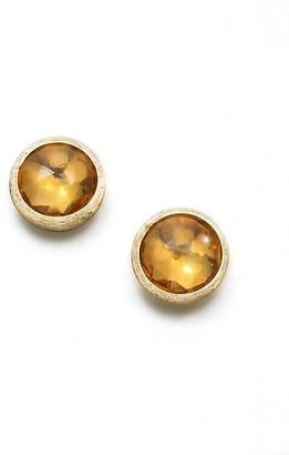 Marco Bicego Jaipur Citrine & 18K Yellow Gold Stud Earrings