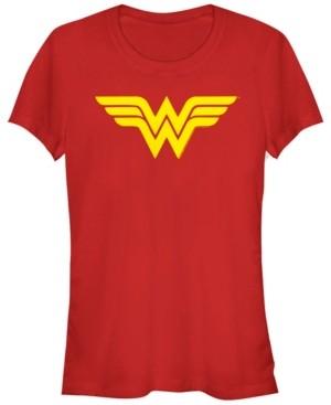 Fifth Sun Dc Wonder Woman Simple Logo Women's Short Sleeve T-Shirt