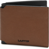 Lanvin Grained-leather wallet
