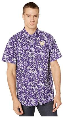 Columbia College Washington Huskies CLG Super Slack Tidetm Shirt (UW Purple) Men's Clothing