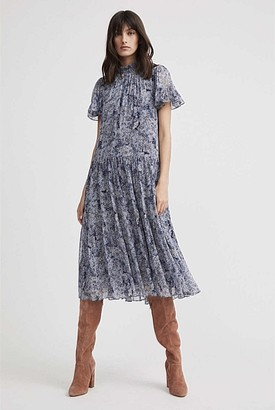 Witchery High-Neck Frill Dress