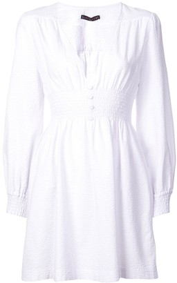 ALEXACHUNG Alexa Chung smock short dress