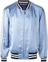 Marc Jacobs contrast trim bomber jacket