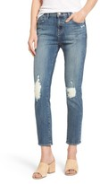Fidelity Women's Dee Dee Distressed Crop Jeans