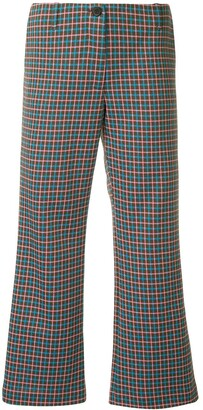 Aalto Flared Cropped Trousers