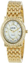 August Steiner Women's AS8043YG Dazzling Diamond Oval Bracelet Watch