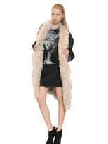 Faith Connexion Reversible Shearling Coat Fur