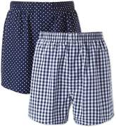 Charles Tyrwhitt Navy 2 Pack Boxers Size XL