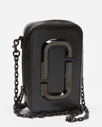 Marc Jacobs Women's Black Leather bags - The Hot Shot DTM Cross-Body Bag - Size One Size at The Iconic