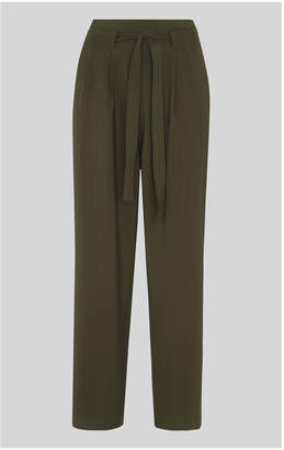 Whistles Belted Casual Crop Trouser