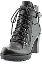 G by Guess Grazzy Women Round Toe Synthetic Black Ankle Boot.