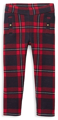 Janie and Jack Baby's, Little Girl's & Girl's Plaid Jacquard Pants