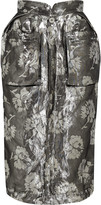 Maison Margiela Metallic jacquard skirt
