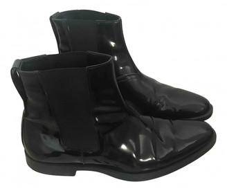 Christian Dior Black Patent leather Boots
