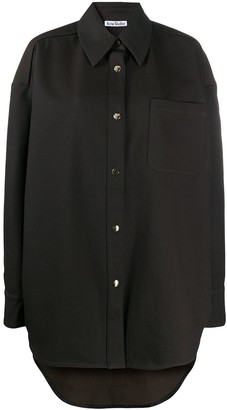 Acne Studios Snap-Button Oversized Shirt