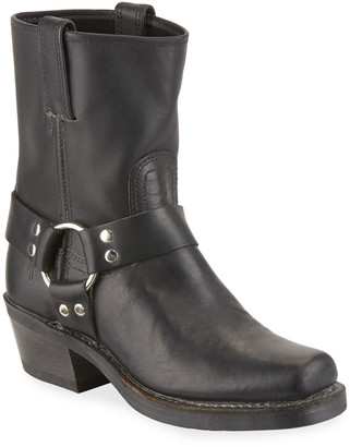Frye Harness 8R Leather Booties