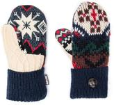 Muk Luks Women's Winter Lodge Potholder Mittens