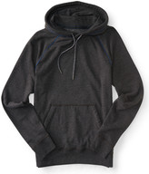 Heathered Piped Pullover Hoodie