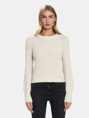 Baum und Pferdgarten Cortney Wool Knit Balloon Sleeve Sweater