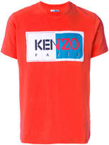 Kenzo The Memento Collection logo patch T-shirt