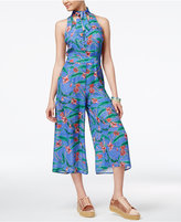 SHIFT Juniors' Cropped Wide-Leg Jumpsuit, Only at Macy's