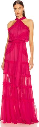 Alexis Lorinda Dress in Azalea Pink | FWRD