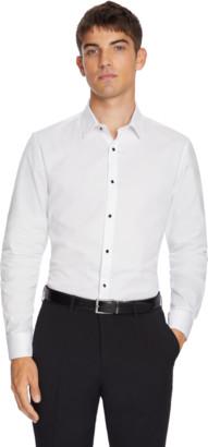 yd. White Seville Slim Dress Shirt