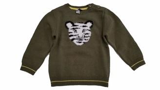 3 Pommes Baby Boys' Pull Kaki Bebe Garcon Sweater