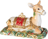 Fitz & Floyd Yuletide Holiday Covered Butter Dish