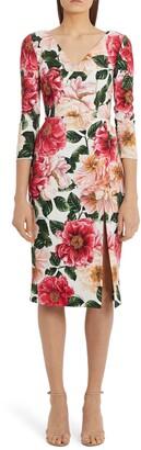 Dolce & Gabbana Cady Sheath Dress