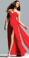 Chiffon Strapless Evening Dresses by Faviana Couture