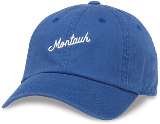 American Needle Montauk Embroidered Baseball Cap