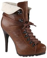 Call it SPRING Call It SpringTM Jollene Cuffed Lace-Up Boots