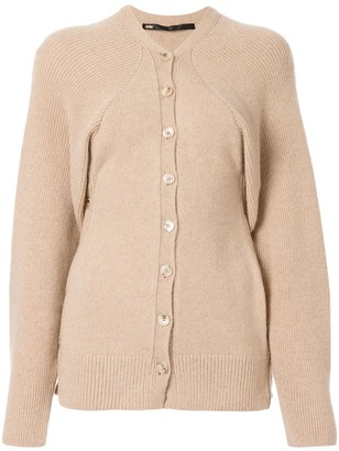 Muller of Yoshio Kubo Long-Sleeve Fitted Cardigan
