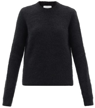 Gabriela Hearst Philippe Boucle-stitch Cashmere-blend Sweater - Black
