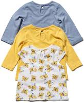 M&Co Butterly print t-shirt three pack
