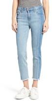 BP Women's Mr Straight Colorblock Jeans