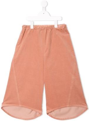 Familiar Wide Leg Cropped Trousers