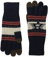 Pendleton Jacquard Knit Gloves Wool Gloves