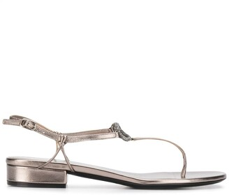 Valentino VLOGO T-bar sandals