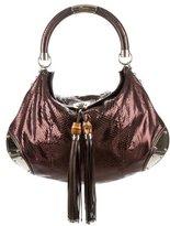 Gucci Python Large Indy Bag