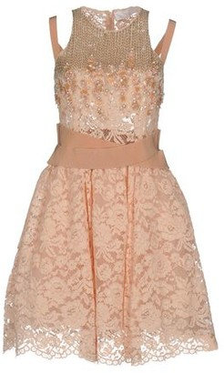 Elisabetta Franchi Gold GOLD Short dress